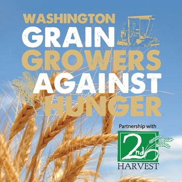 Washington Grain Growers Against Hunger, a partnership with Second Harvest